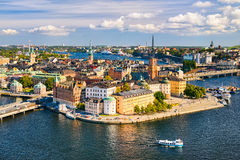 Gamla Stan in Stockholm, Schweden Lizenzfreie Stockbilder