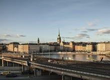 Gamla Stan, Stockholm, Schweden Stockfotografie