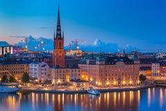 Gamla Stan in Stockholm, Schweden stockbild