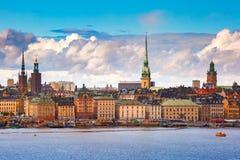 Gamla Stan in Stockholm, Schweden stockfotografie