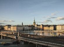 Gamla Stan, Stockholm, Suède photographie stock