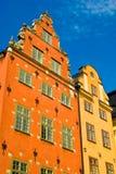Gamla Stan, Stockholm, Suède Images libres de droits