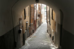 Gamla Stan in Stockholm, Sweden. Royalty Free Stock Images