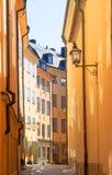 gamla stan stockholm sweden Arkivfoton