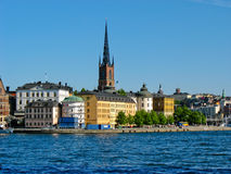 Gamla Stan in Stockholm, Sweden Royalty Free Stock Photo