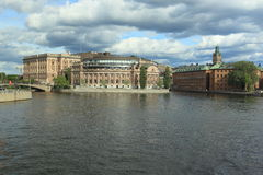 Gamla Stan in Stockholm. Sweden Royalty Free Stock Photo