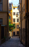 Gamla stan in Stockholm Sweden Royalty Free Stock Photo