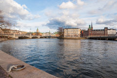 Gamla stan in Stockholm Royalty Free Stock Images