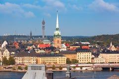 Gamla Stan in Stockholm, Zweden stock fotografie