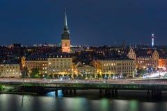 Gamla Stan in Stockholm, Zweden royalty-vrije stock foto's
