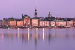 Gamla Stan in Stockholm, Zweden stock afbeelding