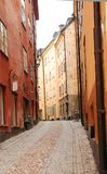 Gamla stan street 2 Royalty Free Stock Photos