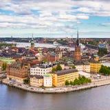 Gamla stan, Sweden, Scandinavia, Europe. Stock Photos
