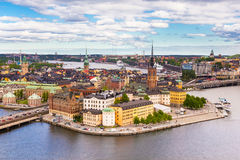 Gamla stan, Sweden, Scandinavia, Europe. Royalty Free Stock Photo