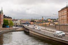 Gamla Stan Verkehr Lizenzfreie Stockfotos