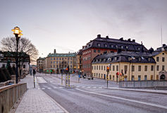 Gamla Stan view Royalty Free Stock Image