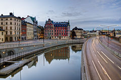 Gamla Stan view Stock Photos