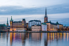 Gamla Stan view Royalty Free Stock Photography