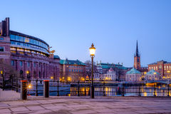 Gamla Stan view Stock Photography