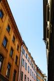 Gamla stan w Sztokholm Szwecja Fotografia Royalty Free
