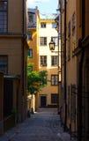 Gamla stan w Sztokholm Szwecja Zdjęcie Royalty Free