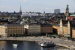 gamla stary stan Stockholm Sweden miasteczko Obrazy Royalty Free