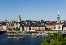 gamla Stockholm stan Photos stock