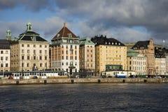 gamla Stockholm stan Photos libres de droits