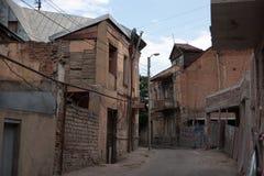 Gamla Tbilisi gator Royaltyfri Foto