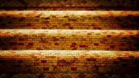 Gamla tegelstenväggar av pagoden Arkivfoto