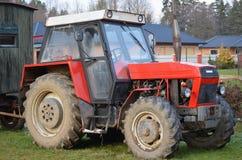 Gamla tjeckiska Zetor traktorer Royaltyfri Fotografi
