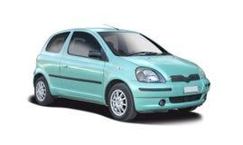 Gamla Toyota Yaris Fotografering för Bildbyråer