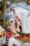 Gamla träblåtthästar Royaltyfria Bilder