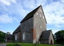 Gamla Uppsala kościół zdjęcia stock