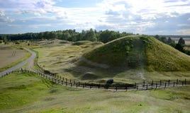 Gamla Uppsala, Sweeden stockbild