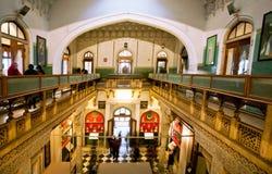 Gamla utställningar inom Albert Hall Museum Arkivfoton