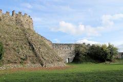 Gamla väggar Arkivbild