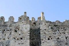 Gamla väggar royaltyfri foto