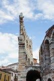 Gamla Verona, Italien, UNESCOvärldsarv royaltyfri foto
