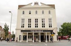Gamla Vic Theatre, London Fotografering för Bildbyråer