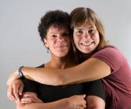 Gamla vänner två utvecklingar Fotografering för Bildbyråer