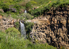 Gamla Waterfall in Israel Royalty Free Stock Photo