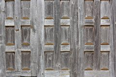 Gamla wood fönster Arkivbilder