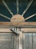 Gamla wood fönster Royaltyfria Foton