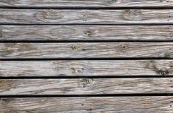 Gamla Wood plankor Arkivbilder