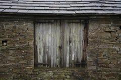 Gamla Yorkshire för skjulnärbildsikt dalar Yorkshire England Royaltyfria Foton