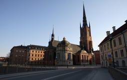 gamlaen riddarholmen stan stockholm Arkivfoton