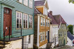 Gamle Bergen museum, Norway Royalty Free Stock Photography