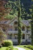 Gamle Laerdalssoyri - hotel Lindstrom imagen de archivo