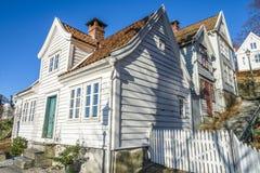 Gamle (old) Bergen Museum in Bergen, Norway Royalty Free Stock Image
